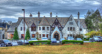 Photograph - The Castle Pace Academy West Paces Ferry Road Private School Art by Reid Callaway