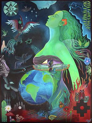 Pachamama Art Print by Sarah Grubb