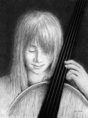 Drawing - Pachelbel Canon In D by Lyle Polyak