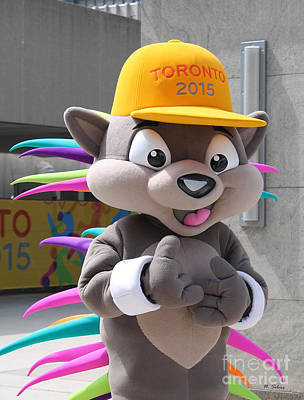 Photograph - Pachi The Porcupine  Pan Am Mascot by Nina Silver