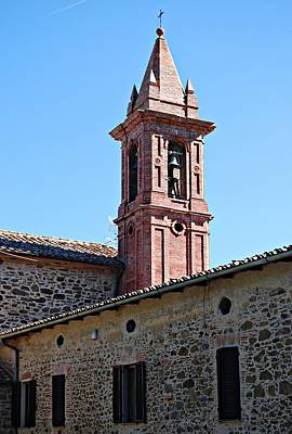 Photograph - Paciano Bell Tower by Dorothy Berry-Lound