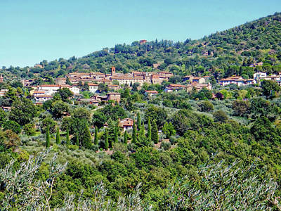 Photograph - Paciano Umbria by Dorothy Berry-Lound