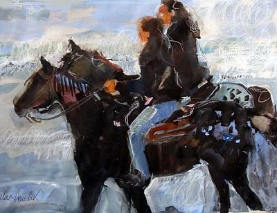 Painting - Pacific Appaloosa by Pauline Hauder