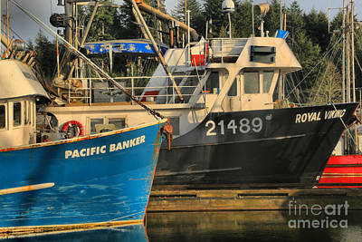 Photograph - Pacific Banker And Royal Viking by Adam Jewell