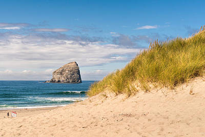 Photograph - Pacific Beach Haystack by Michael Hope