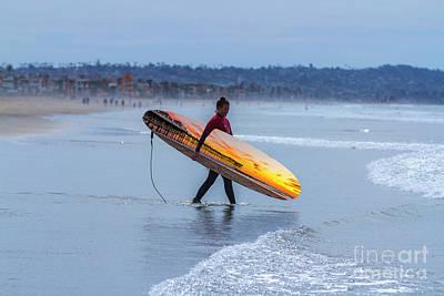Photograph - Pacific Beach Pier  by Roman Gomez
