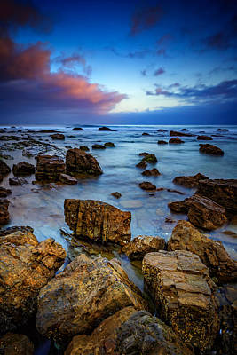 Photograph - Pacific Blue At Pelican Point by Rick Berk