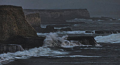 Photograph - Pacific Cliffs Of Davenport by Grace Dillon