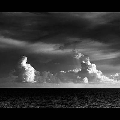 Fineart Photograph - Pacific Clouds. Digital Photo Taken by Alex Snay