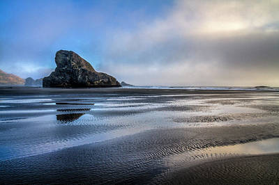Photograph - Pacific Coast At Low Tide by Debra and Dave Vanderlaan