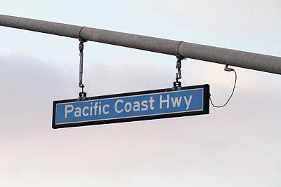 Photograph - Pacific Coast Highway by Art Block Collections