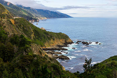 Photograph - Pacific Coast Highway by Derek Dean