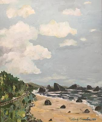 Painting - Pacific Coast Highway by Mindy Carpenter