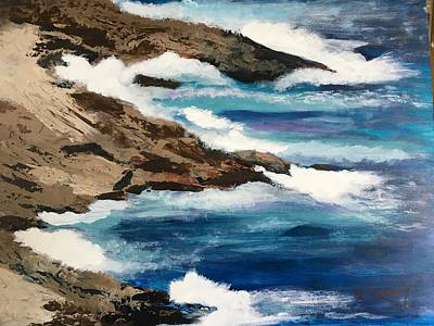 Painting - Pacific Coast by Michele Turney