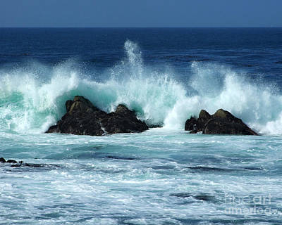 Photograph - Pacific Coast Waves Photograph by Kristen Fox