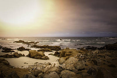 Print featuring the photograph Pacific Coastline by Ryan Photography