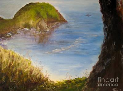 Painting - Pacific Cove by Patricia Kanzler