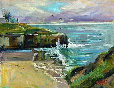 Painting - Pacific Dawning by Marie Massey