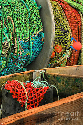 Photograph - Pacific Fishing Nets by Adam Jewell