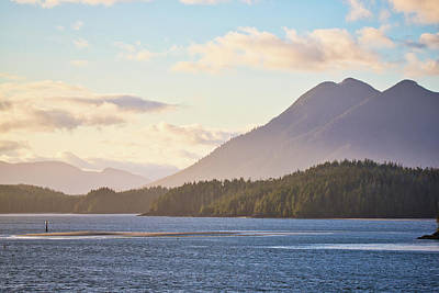 Photograph - Pacific Northwest Sunset by Keith Boone