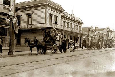 Photograph - Pacific Ocean House, Alavarado Street, Monterey by California Views Mr Pat Hathaway Archives