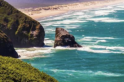 Photograph - Pacific Ocean Shore by Jonny D