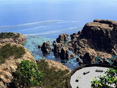 Digital Art - Pacific Palisades by John Pangia
