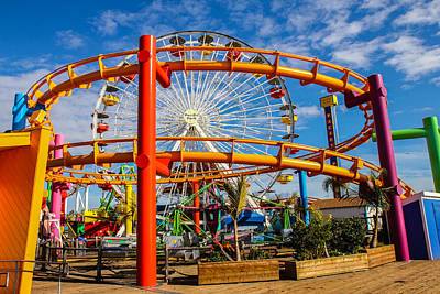 Photograph - Pacific Park 3 by Robert Hebert