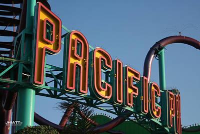 Pacific Park Art Print
