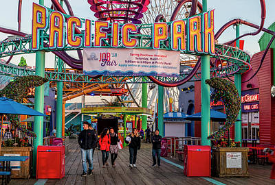 Photograph - Pacific Park - On The Pier 2 by Gene Parks