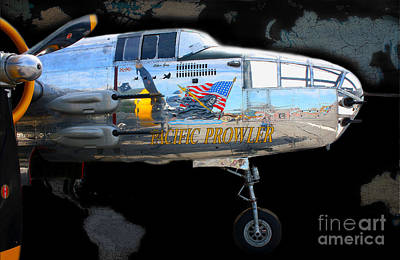 Pacific Prowler Art Print by Barbara Teller