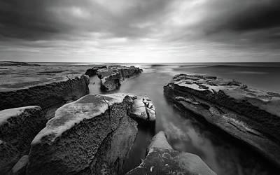 Rocky Coast Photograph - Pacific Reef by Joseph Smith