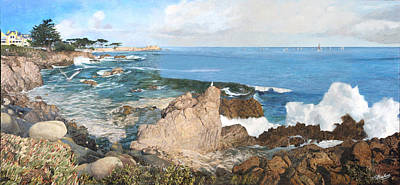 Painting - Pacific Splendor by Philippe Plouchart