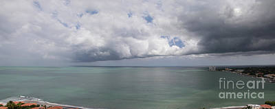 Photograph - Pacific Storm Panorama by Bob Hislop