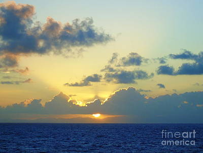 Pacific Sunrise, Japan Art Print