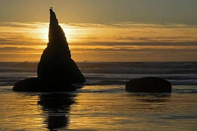 Photograph - Pacific Sunset - 365-245 by Inge Riis McDonald