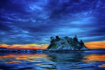 Photograph - Pacific Sunset by John Poon