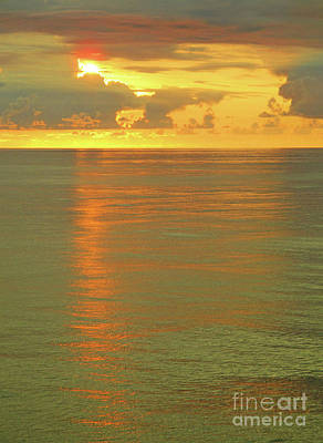 Photograph - Pacific Sunset Near Acapulco 1 by Randall Weidner