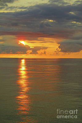 Photograph - Pacific Sunset Near Acapulco 2 by Randall Weidner
