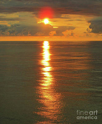 Photograph - Pacific Sunset Near Acapulco 3 by Randall Weidner