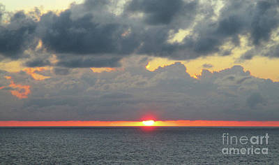 Photograph - Pacific Sunset Off Baja California, by Randall Weidner