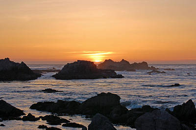 Pacific Sunset Art Print by Pearson Photography