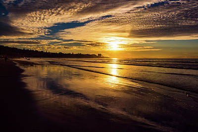 Photograph - Pacific Sunset by Robert McKay Jones