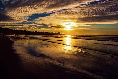 Photograph - Pacific Sunset by Robert McKay Jones