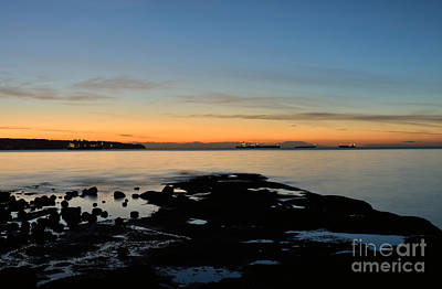 Photograph - Pacific Sunset by Terry Elniski