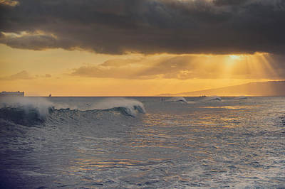 Photograph - Pacific Swell by Ray Devlin