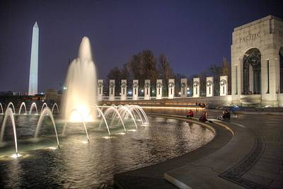 Photograph - Pacific Theatre World War II Memorial by John King