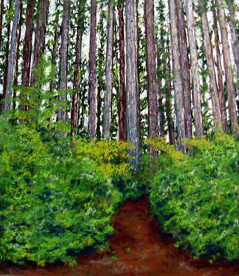 Painting - Pacific Trail  by Carl Capps