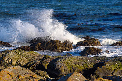 Photograph - Pacific Waves by Keith Boone