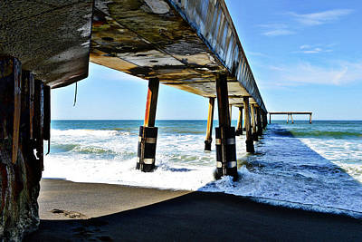Photograph - Pacifica Pier Perspective by Glenn McCarthy Art and Photography